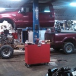 6.0 Powerstroke cab up