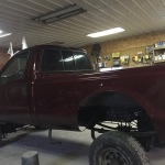 '02 7.3 Ford Powerstroke Body On After Paint Job At Tim's Auto