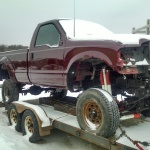 '02 7.3 Ford Powerstroke New Paint Job Heading Into Shop