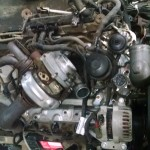 2004 F350 6.0 Powerstroke Before getting tore down top view