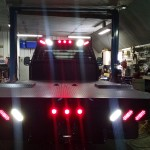 2004 F350 6.0 Powerstroke Cab & Chassis Flatbed w/ Clear LED Lights Installed