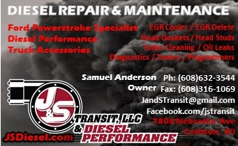 Diesel Truck Repair Cashton Wi 54619 Areas We Serve